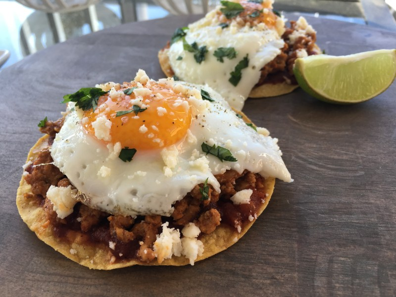 Healthy Huevos Rancheros - Cooking Up Happiness