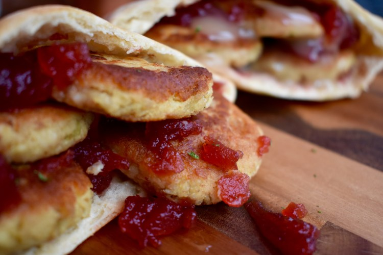 "Thanksgiving Leftover ""Falafels"" - Cooking Up Happiness"