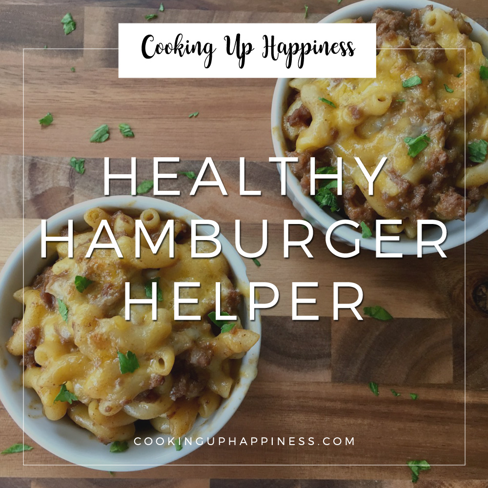 healthy hamburger helper