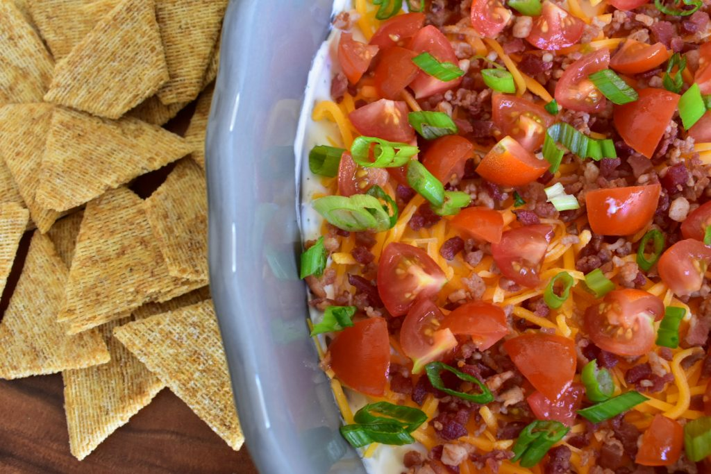 Light Bacon Ranch Dip