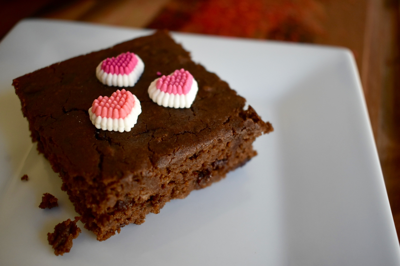 Chickpea Chocolate Brownies - Cooking Up Happiness