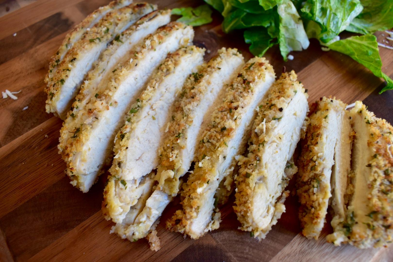Chicken Caesar Pita - Cooking Up Happiness