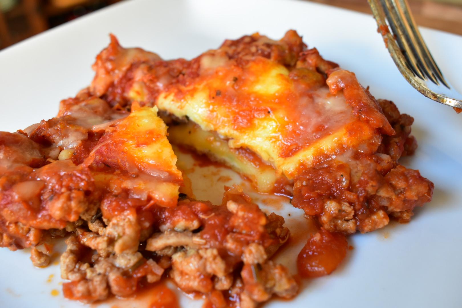 Turkey Ravioli Lasagna - Cooking Up Happiness