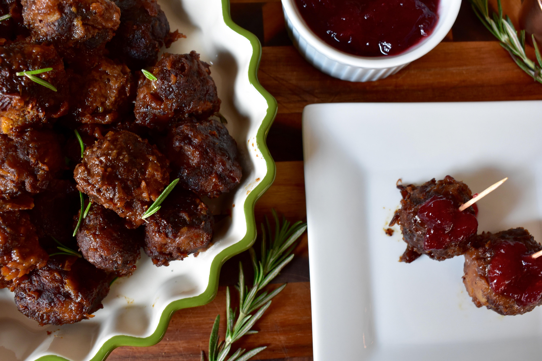 Holiday Turkey Meatballs
