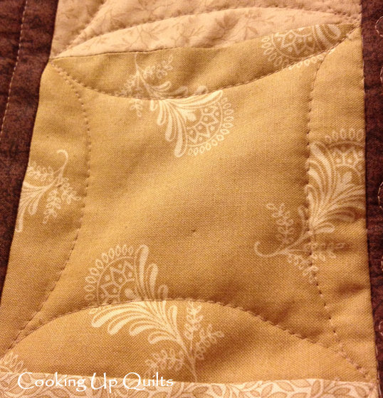 Wonky Square Quilting
