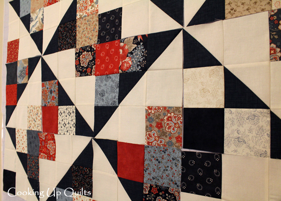 Side view Test Quilt - I Like it Like That!