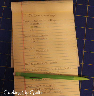 Quilty To Do List