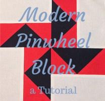 Modern Pinwheel Block
