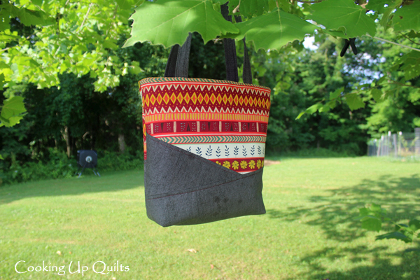 Tote Bag w/Zipper