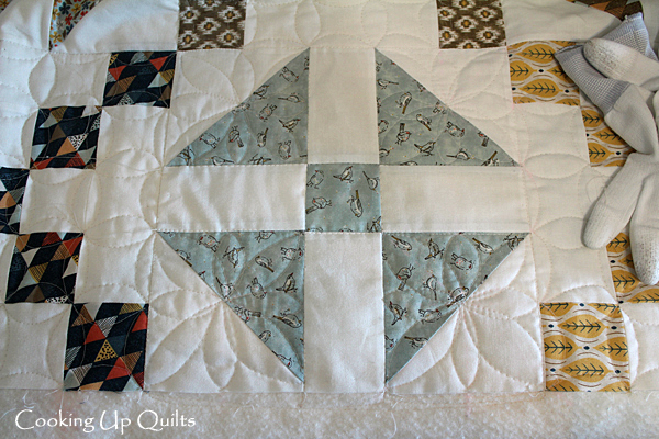Quilted Flower Design FMQ