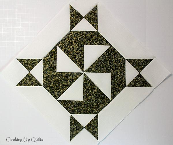 Correct Block A Twirl Pattern