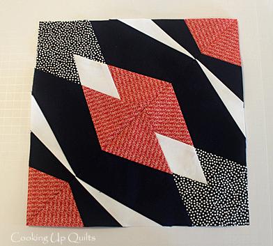 Hidden Gems Paper Pieced Block