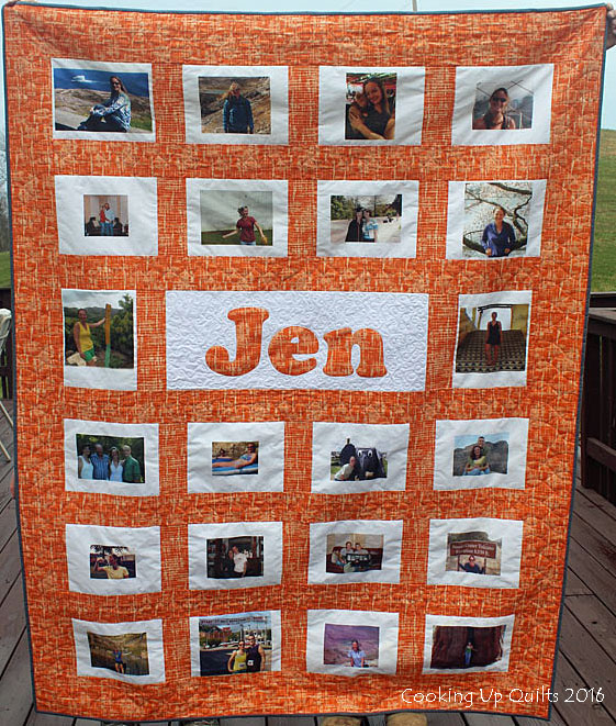 Jen's Photo Quilt