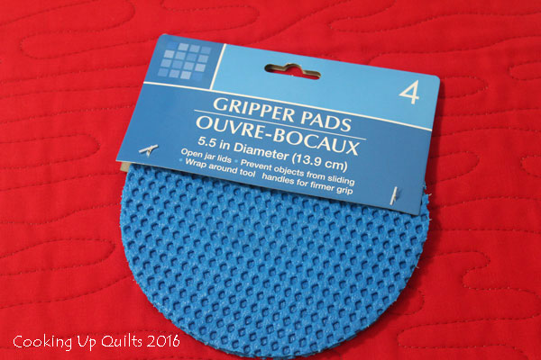 Gripper Pads for Free Motion Quilting