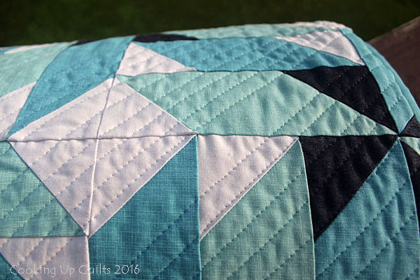 Straight Line Quilting with Superior MonoPoly Thread