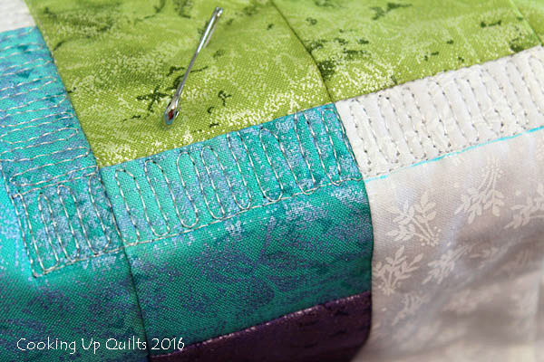 Back and Forth Quilting
