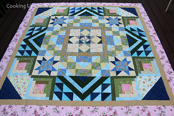 Finished Quilt-Along Customer Quilt