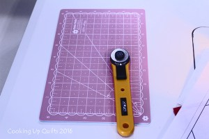 {Let's Talk} A Handy Cutting Mat