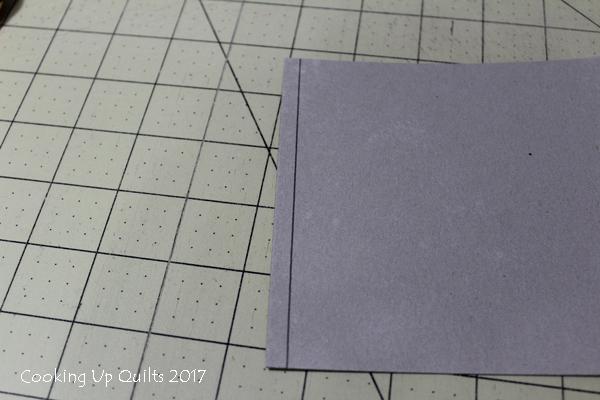 Improvised heat resistant ruler