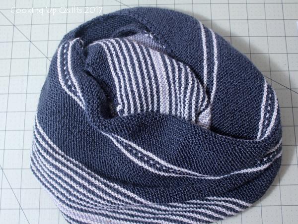 Hand Knit Shawl Shibui Knit Staccato