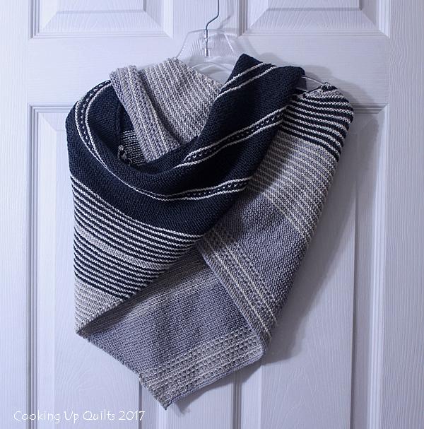 Drachenfels Knitting Pattern Shawl
