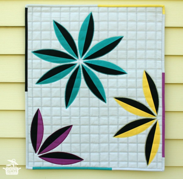 Mini Flower Applique Quilt