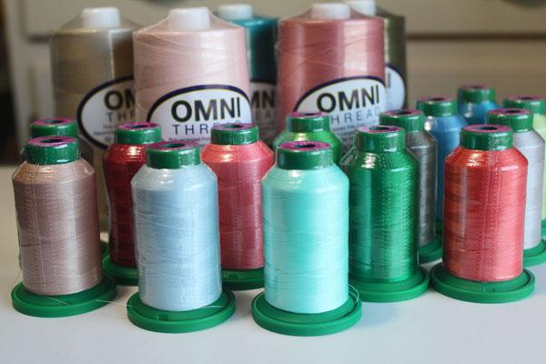 Superior, Omni, Isacord, thread