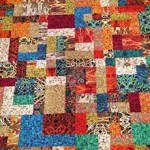 All Mixed Up quilt by Beth Sellers of Cooking Up Quilts