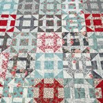 New Beginnings quilt by Beth Sellers of Cooking Up Quilts