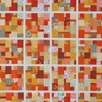 Orange Crush quilt by Beth Sellers of Cooking Up Quilts