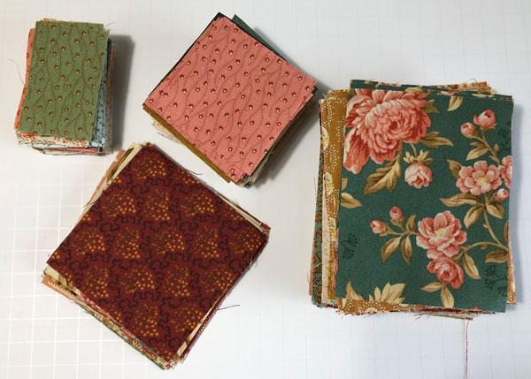 Crystal Farms fabric prep