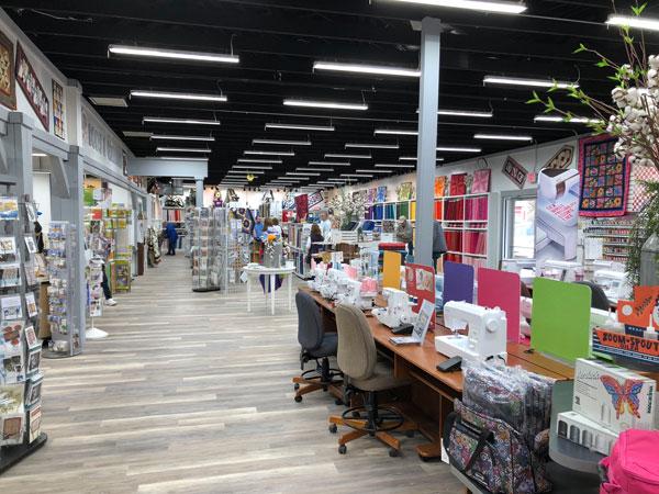 The New Bolts & Quarters Quilt Shop