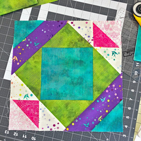 block by beth sellers of cooking up quilts