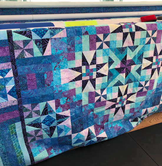 Melanie's Batik Quilt