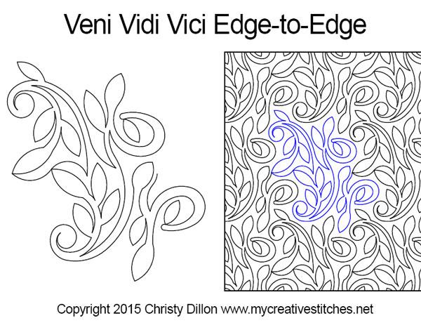veni-vidi-vici e2e design
