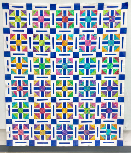 Razzleberry pattern by Beth Sellers of Cooking Up Quilts