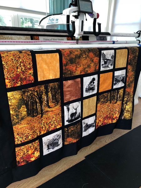 Visions of West Virginia quilt