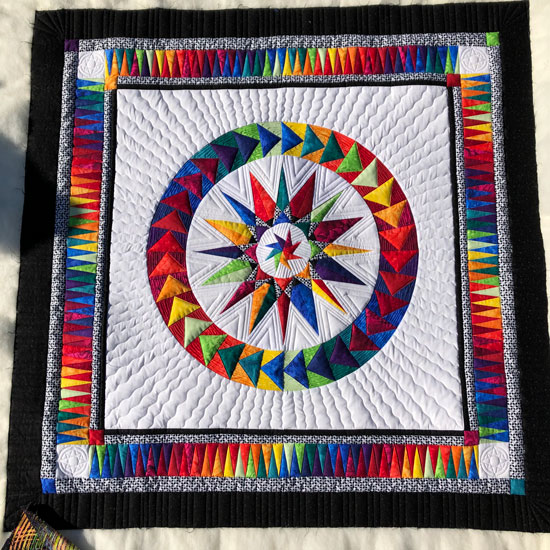 Chasing Dreams quilted by Beth Sellers of Cooking Up Quilts