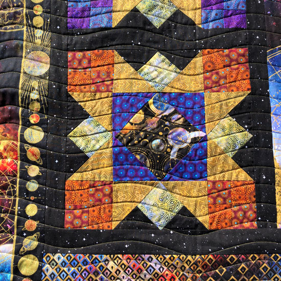 Quilted by Beth Sellers of Cooking Up Quilts