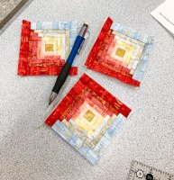How Small Can You Make a Log Cabin Block?