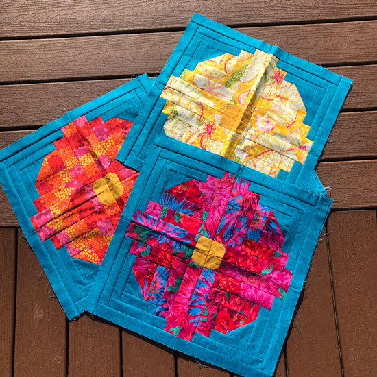Edna's Garden Blocks by Beth Sellers of Cooking Up Quilts