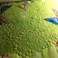 Quilting Wild on Kaffe and Grunge