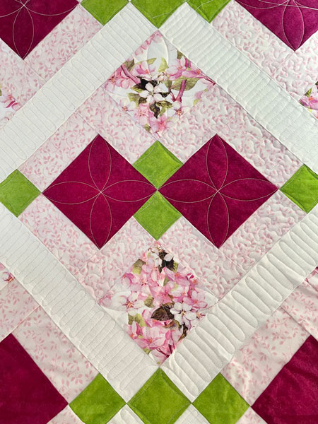 Quilting path by Beth Sellers of Cooking Up Quilts