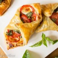 Tomato Basil Pastries