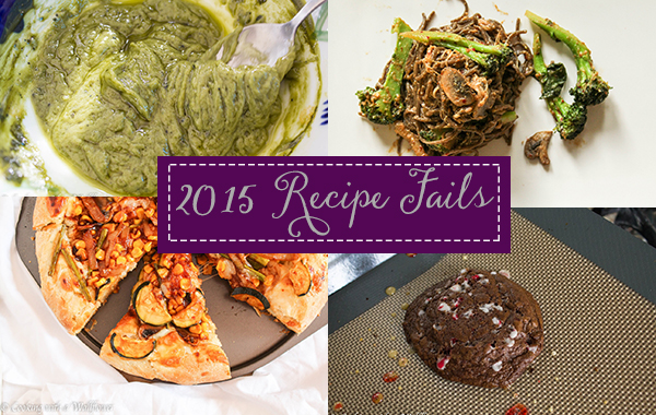 2015 Recipe Fails | Cooking with a Wallflower