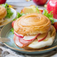 Honey Apple Ham Croissant Melts