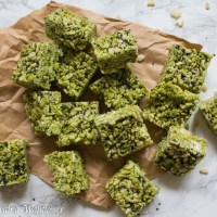 Matcha Rice Crispy Treats