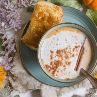 Dirty Pumpkin Chai Oatmeal Latte