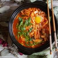 Korean Style Kimchi Ramen