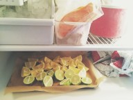 Freezing Lemons and Limes | Cooking With Bells On